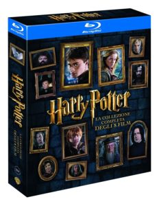 cofanetto blu-ray harry potter
