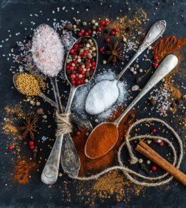 spezie per cucinare
