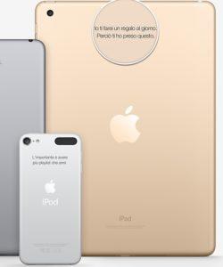gadget personalizzati online incisione prodotti apple
