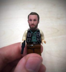 lego con viso personalizzato