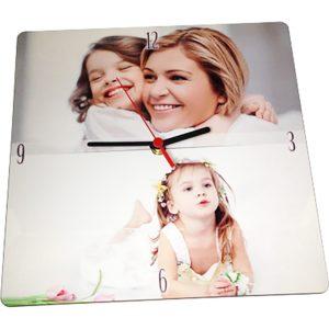orologio da parete con foto stampata