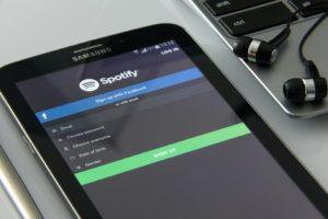 spotify applicazione per streaming musicale
