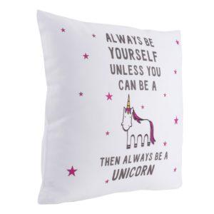 cuscino unicorni