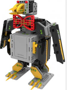 robot giocattolo da costruire pinguino