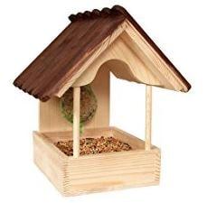casetta per gli uccellini da appendere in giardino
