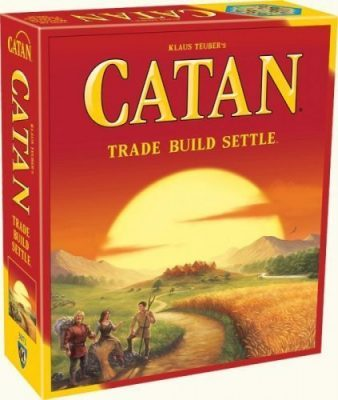 coloni di catan scatola gioco da tavolo