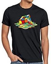 maglietta nerd cubo di rubik