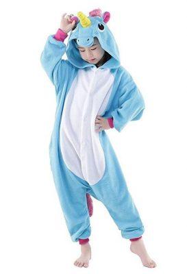pigiamino da unicorno per bambine