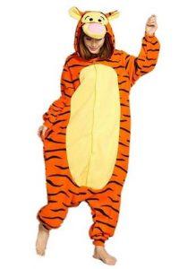 pigiama onesie di tigro