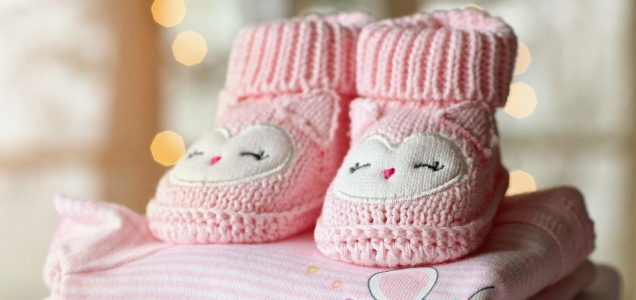 Regali per donne in gravidanza scarpine