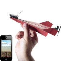 aeroplano di carta telecomandato da smartphone